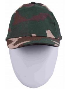 Gorra Camuflaje de Corte Militar
