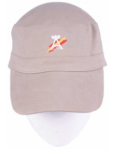 Cap Military Style - Beige