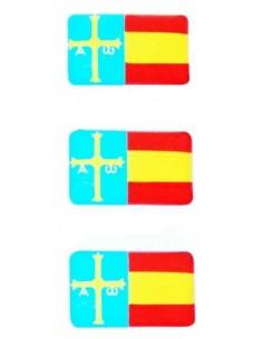 Pegatina Relieve Asturias Mini