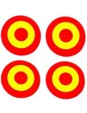 Spain Rosette Pack of Stickers