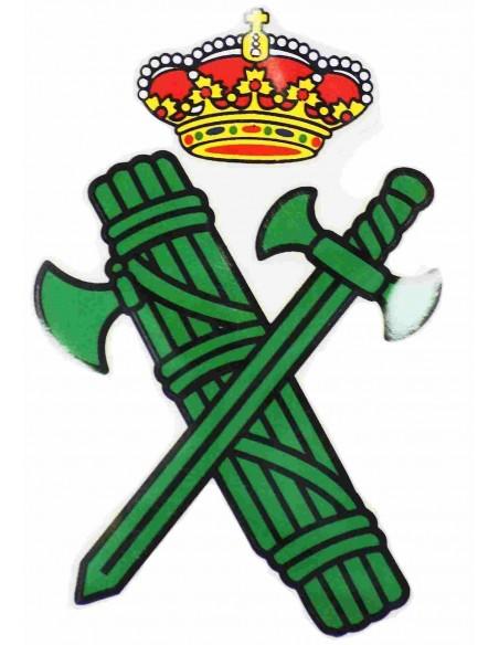 Civil Guard siluet badge sticker