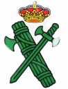 Pegatina Silueta Escudo Guardia Civil