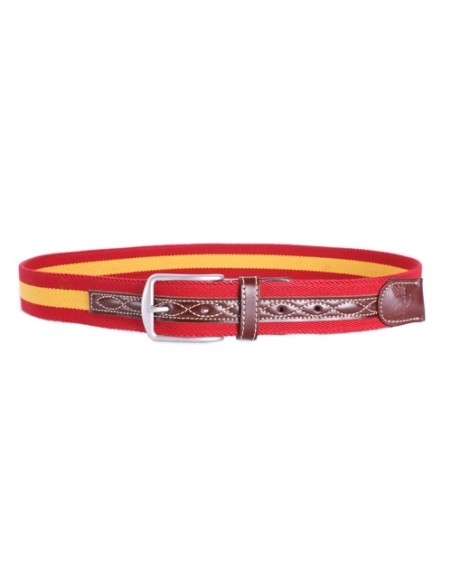 Spanish Flag Belt - Red and Yellow