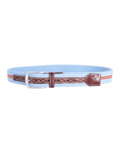Spanish Flag Belt - Sky Blue