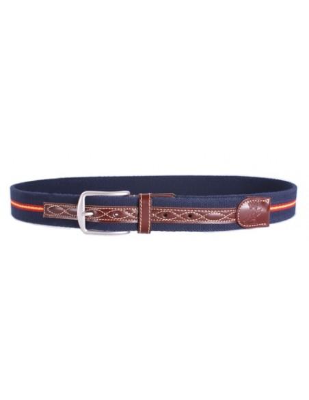 Spanish Flag Belt - Navy Blue