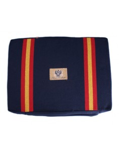 Bullfighting Pad With Spanish Flag Details - Navy Blue