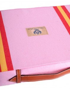 Bullfighting Pad With Spanish Flag Details - Pink