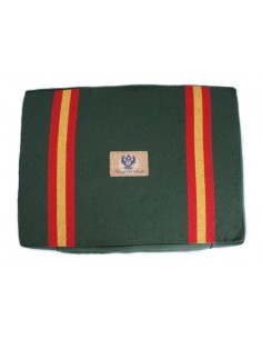 Bullfighting Pad With Spanish Flag Details - Green