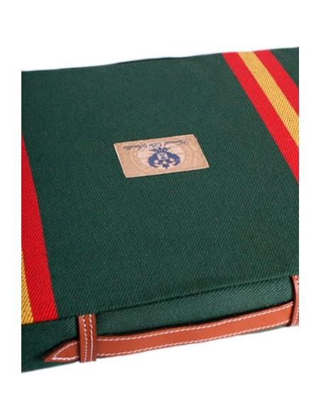 Almohadilla Taurina Bandera de España - Verde
