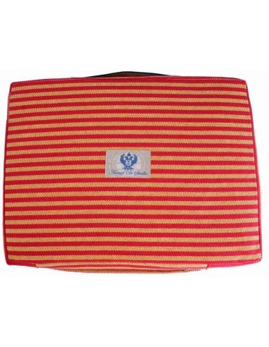 Striped Bullfighting Pad - Red