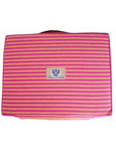 Striped Bullfighting Pad - Pink