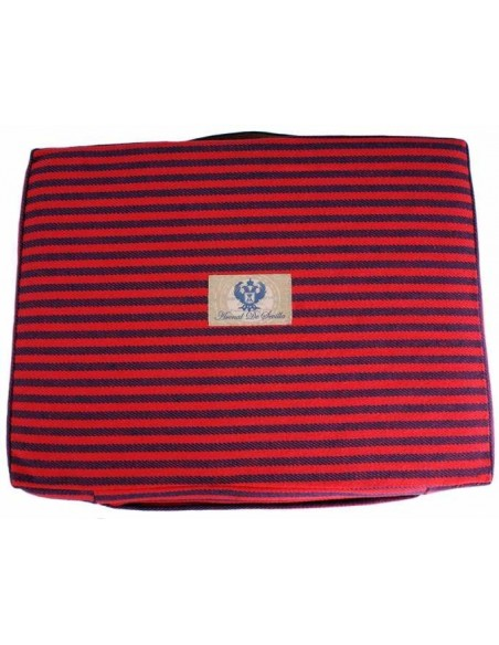 Bullfight Pad Red and Blue Navy