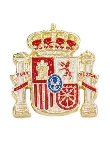 Pin Silueta Escudo España Relieve