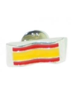 Pin Rectangular España Plateado