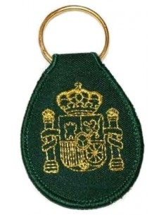 Canarias Local Police Key Ring