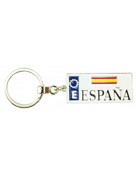Llavero España Placa