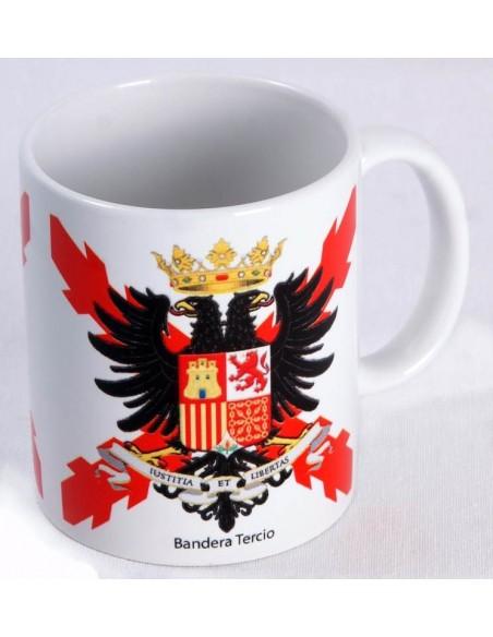 Tercio's flag cup