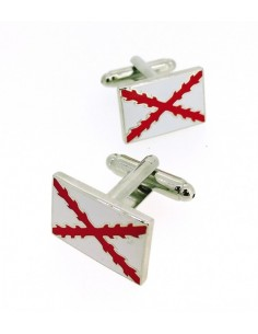 Cross of Burgundy Cufflinks