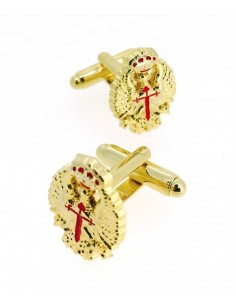 Emblem of the Spanish Army Headquarters Cufflinks