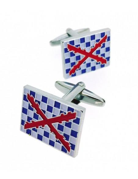 Spinola's Tercio flag cufflinks
