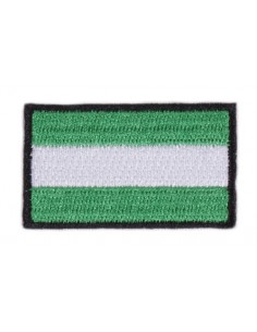 Andalusian Flag Embroidered Patch