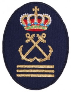Yatch Captain Embroidered Patch