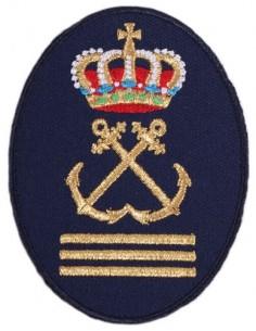 Parche Bordado de Capitán de Yate