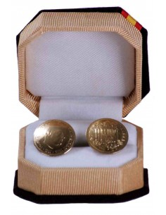 Cufflinks Peseta Mixed