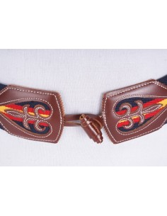 Elastic Belt Spain Flag - Blue