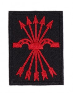 Patch of the Shield of the Spanish Falange De Las Jons