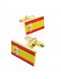Spanish Pavillion and War Flag Cufflinks