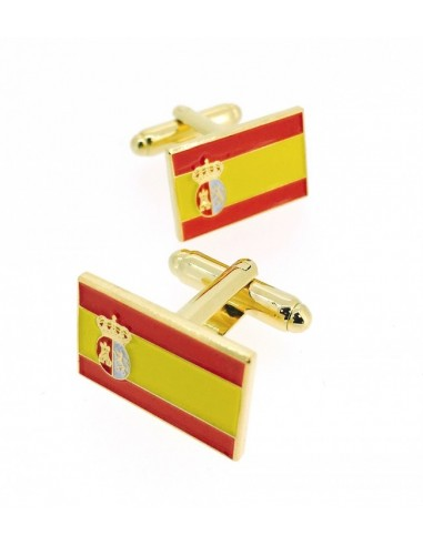 Spanish Pavillion and War Flag Cufflinks