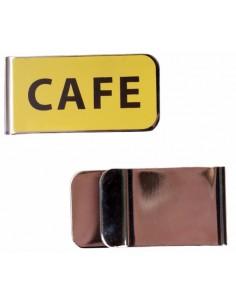 Pinza de Billetes Cafe