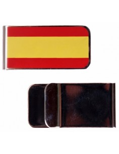 Banknote clip Flag Spain