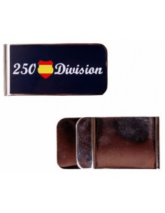 Blue Division Banknote Clamp