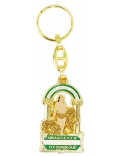 Andalusia Emblem Key Ring