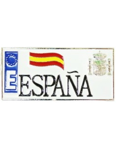 Spanish License Plate Magnet