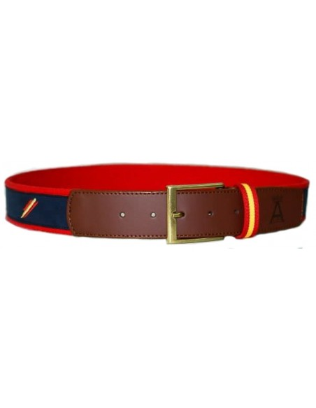 Belt nay blue and Red