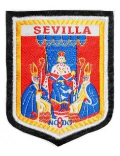 Parche Bordado Antiguo Escudo Sevilla