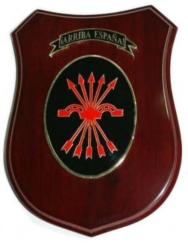 Spanish phalanx plaque of the Jons Glazed