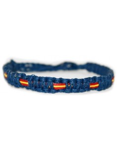 Marine bracelet or Celeste waxed thread Model 6
