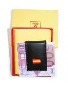 Falange Flag Leather Wallet