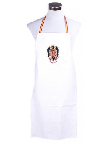 White apron of the saint John's eagle