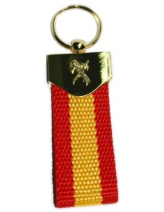 Fiber Civil Guard Keychain