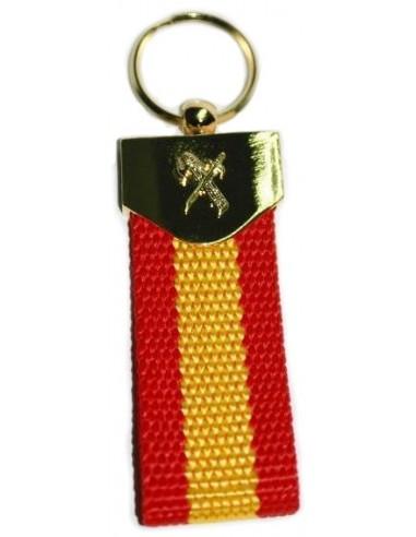 Fiber Civil Guard Keychain