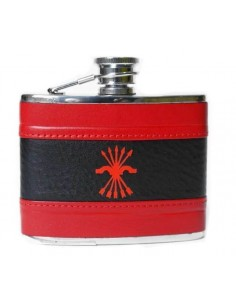 Flask - Falange Red and Black
