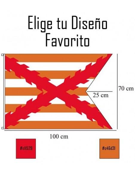 Bandera Personalizada Tipo Medival