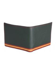 Billetera Bandera España con Escudo Grabado G.Civil