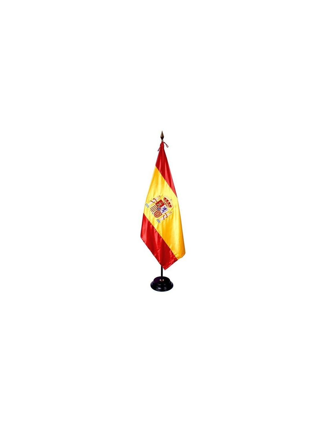 Spanish embroidered flag loading zoom