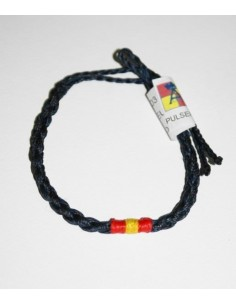 Fine Wire Spain flag bracelet Navy Blue